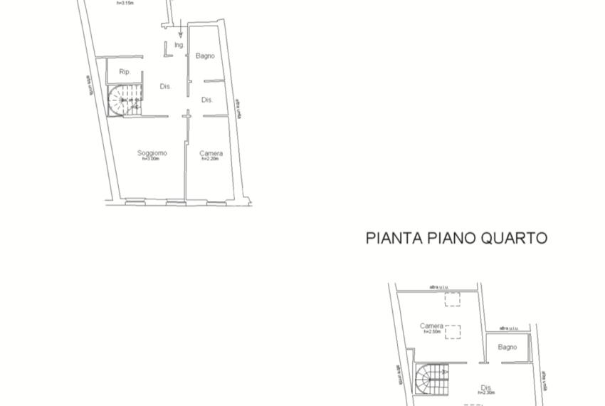 planimetria ATTICO SUB 126