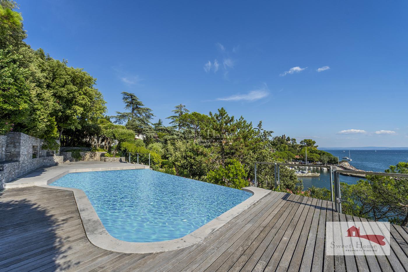 Costiera, villa con piscina e discesa a mare privata ...